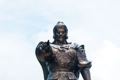 Monument to the great commander of Vietnam. Stock Image