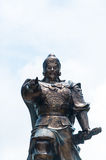 Monument to the great commander of Vietnam. Royalty Free Stock Photography