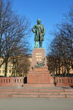 Monument to great russian composer Mikhail Glinka Royalty Free Stock Photography