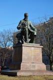 Monument to a great russian composer Nikolai Rimsky-Korsakov Stock Photos