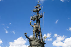 Monument to great Russian tsar Peter 1 Stock Photo
