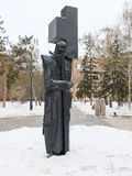Monument to the great Russian writer Fyodor Dostoevsky Stock Photos