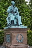 Monument to Hans Christian Andersen in Kings Garden in Copenhagen Royalty Free Stock Photography