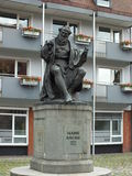 Monument to Hans Sachs in Nuremberg, Germany Royalty Free Stock Photos