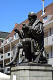 Monument to Hans Sachs in Nuremberg, Germany Royalty Free Stock Photography