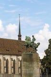 Monument to Hans Waldmann, Zurich Stock Image