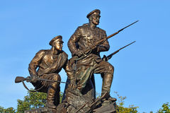 Monument to the Heroes of the First world war. Kaliningrad, Russ Royalty Free Stock Images