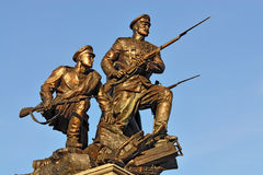 Monument to the Heroes of First world war. Kaliningrad, Russia Royalty Free Stock Images