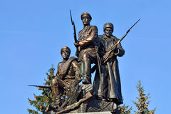 Monument to Heroes of First world war. Kaliningrad, Russia Royalty Free Stock Photos