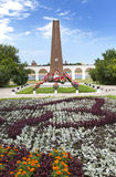 Monument to heroes of Great Patriotic war, Great Novgorod, Russia Royalty Free Stock Photography