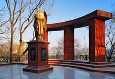 Monument to the Heroes of the Russian-Japanese War Stock Photography