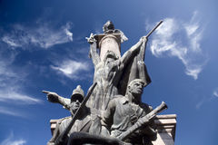 Monument to Heroes of War Royalty Free Stock Photo