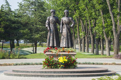 Monument to heroes of World War I, Krasnodar Royalty Free Stock Photos