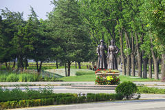 Monument to heroes of World War I, Krasnodar Royalty Free Stock Images
