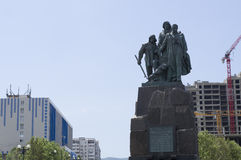 Monument to the Heroic Black Sea sailors Royalty Free Stock Image
