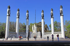 Monument to the heroic cadets in chapultepec park, Mexico city Stock Photo