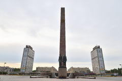 Monument to the Heroic Defenders of Leningrad. Stock Image