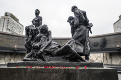 Monument to the Heroic Defenders of Leningrad Stock Images