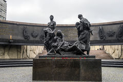 Monument to the Heroic Defenders of Leningrad. Monument to Heroic Defenders of Leningrad, Victory Square, St. Petersburg Stock Image