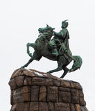 Monument to Hetman Bogdan Khmelnitsky. Kiev Royalty Free Stock Photos