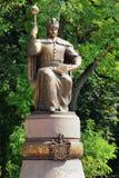 Monument to Hetman Ivan Mazepa in Poltava, central Ukraine Royalty Free Stock Images