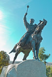 Monument to Hetman Konashevych-Sahaidachny Royalty Free Stock Photography
