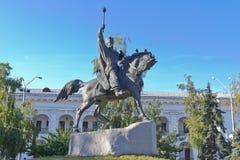 A monument to Hetman Sahaidachny Royalty Free Stock Photos