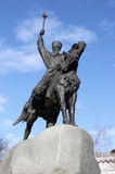 Monument to Hetman Sahaidachny Stock Image