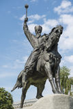 Monument to Hetman Sahaidachny in Kiev Royalty Free Stock Photography