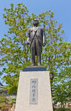 Monument to Higaki Toshiyuki in Imabari, Japan Stock Images