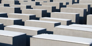 Monument to the Holocaust in Berlin Stock Image