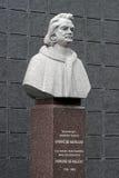 Monument to Honore de Balzac in Berdychiv, Ukraine Stock Images