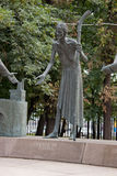 The monument to human vices. Moscow. Fragment of poverty. Royalty Free Stock Photos