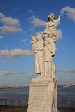 Monument To The Immigrant Stock Photography