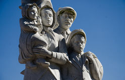 Monument to the Immigrants - New Orleans. The Monument to the Immigrants was unveiled on March 19, 1995 to honor the Italian immigrants to the USA.  Franco Stock Photos
