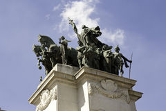 Monument to the Independence of Brazil Stock Image