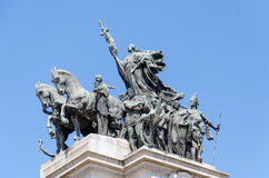 Monument to the Independence of Brazil Royalty Free Stock Image