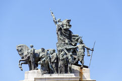 Monument to the Independence of Brazil Royalty Free Stock Images