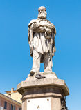 Monument to the Italian hero Giuseppe Garibaldi. Stock Photo