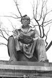 Monument to Ivan Krylov in the Summer Garden. ST.PETERSBURG, RUSSIA - 5 MARCH 2016: Monument to Ivan Krylov in the Summer Garden. Ivan Krylov - Russian writer Stock Photo