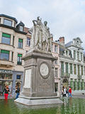 Monument to Jan Frans Willems Royalty Free Stock Photography