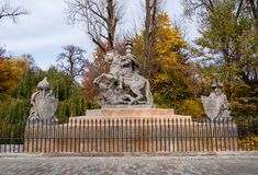 Monument to Jan III Sobieski Royalty Free Stock Photo