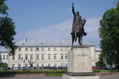 Monument to Jan Zamoyski Royalty Free Stock Photography