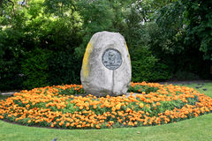 Monument to Jeremiah O'Donovan Rossa, in Dublin's St Stephen's Green Royalty Free Stock Photography
