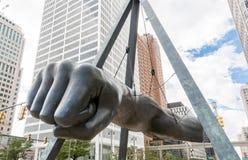 Monument to Joe Louis Stock Image