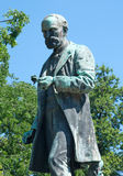 Monument to Josip Pancic, Serbian botanist. Monument to Jovan Cvijic, Serbian botanist, doctor, a famous lecturer. He was the founder of Serbian school of Royalty Free Stock Images