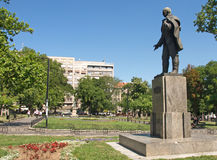 Monument to Jovan Cvijic, Serbian geographer and ethnologist Stock Images