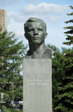 Monument to Juriy Gagarin. Next to the Space museum Royalty Free Stock Photo