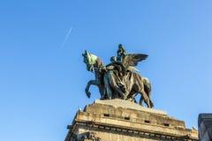 Monument to Kaiser Wilhelm I Royalty Free Stock Images