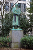 Monument to Karl Leberecht Immermann in Dusseldorf Royalty Free Stock Photography
